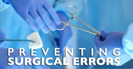Preventing Surgical Errors