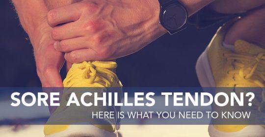You've Hurt Your Achilles Tendon